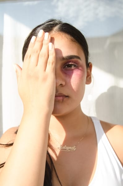 War by Jhanely Escobar - Through the Eyes of a Girl: Photographs from Las Fotos Project