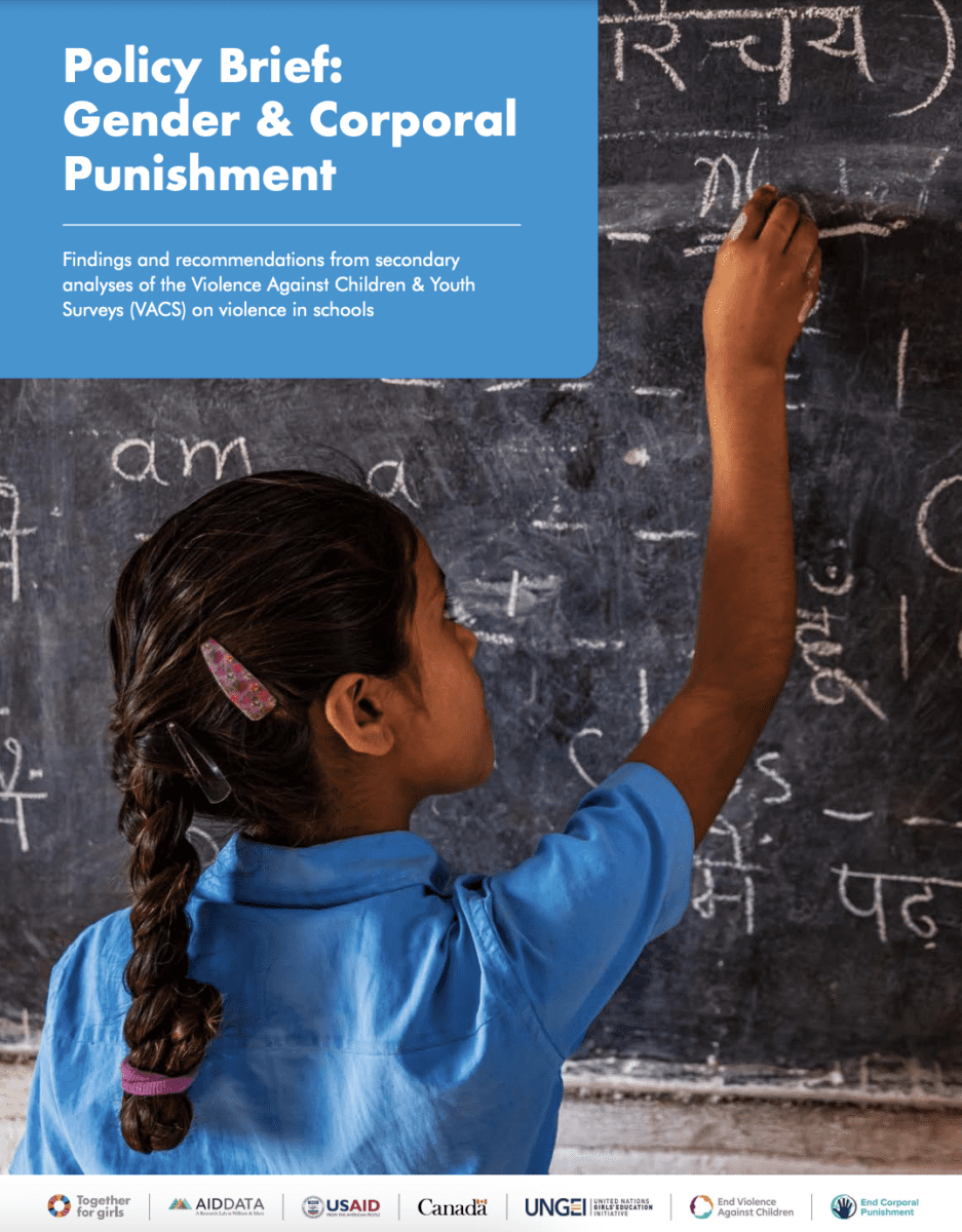 Gender and Corporal Punishment Policy Brief