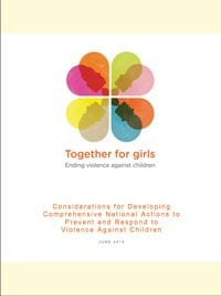 Considerations for Developing  Comprehensive  National Actions to Prevent and Respond to Violence Against Children