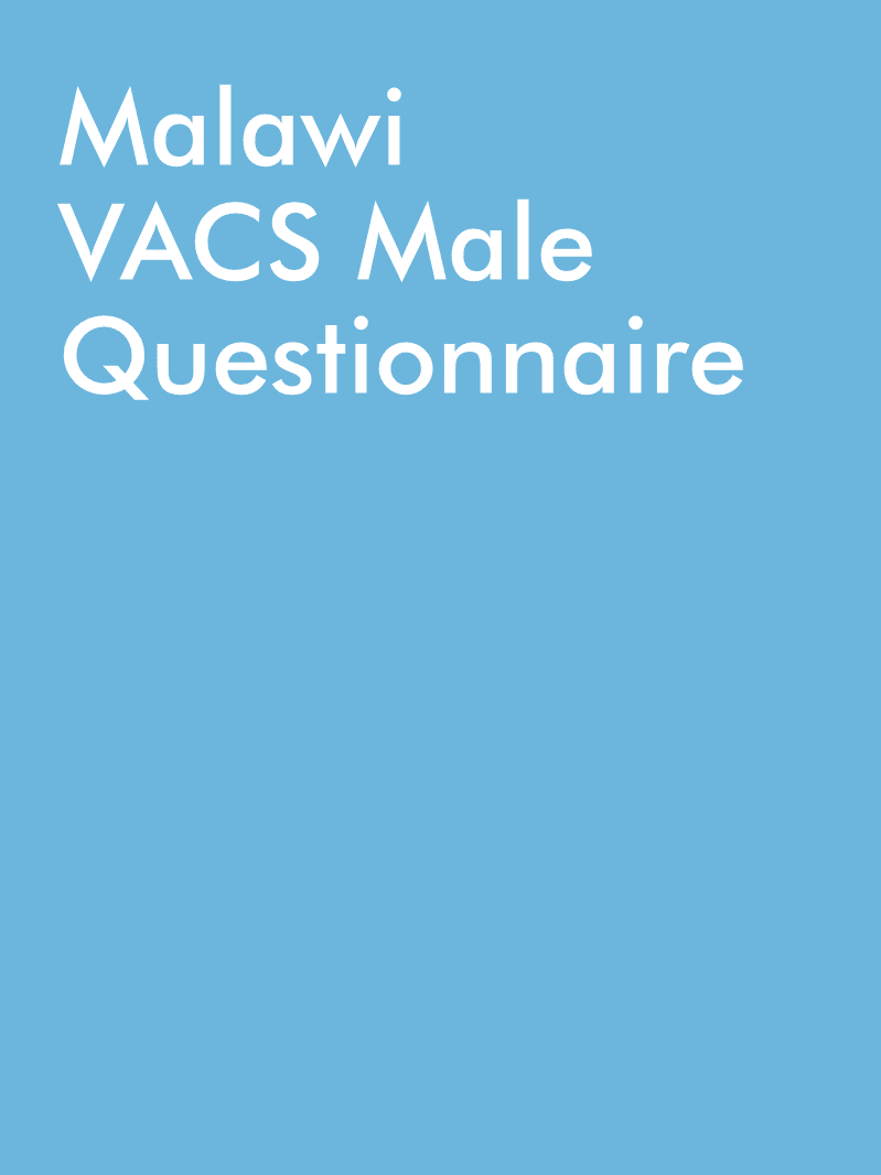 Malawi VACS Male Questionnaire