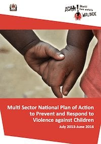 Multi Sector National Plan of Action to Prevent and Respond to Violence against Children in Tanzania 2013 - 2016