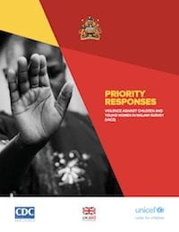 Priority Responses: Violence Against Children and Young Women in Malawi Survey (VACS)