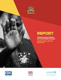 Report: Violence Against Children and Young Women in Malawi, Findings from a National Survey 2013 (Full Report)