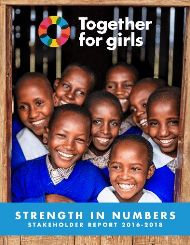 Stakeholder Report Cover - Together for Girls Annual Reports