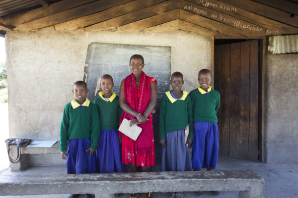 Kenyan school children. Kenya. Africa.