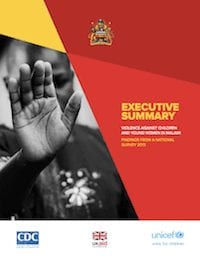 Violence Against Children in Malawi: Findings from a National Survey (Executive Summary)