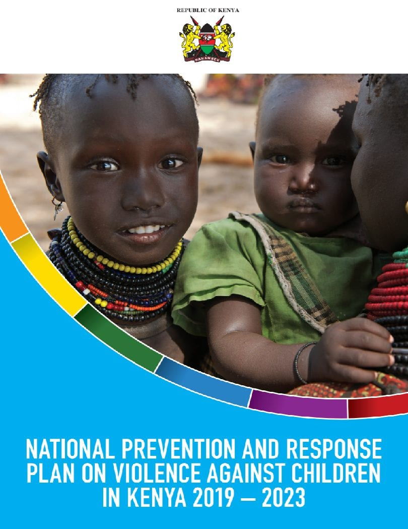 National Prevention and Response Plan on Violence Against Children in Kenya 2019-2023